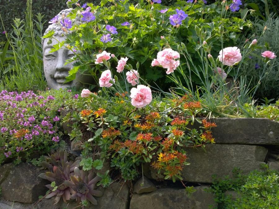 Natursteinmauer und Gartenpflege in Seelscheid