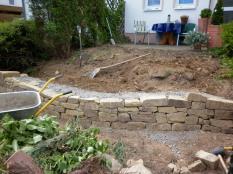Gartenmauerprojekt in Seelscheid